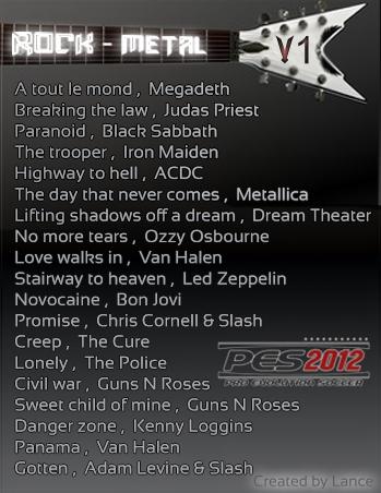 Música Rock / Metal v1 by dilmer911