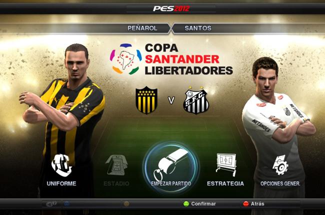PES 2012 recibe el nuevo DLC de la Copa Libertadores