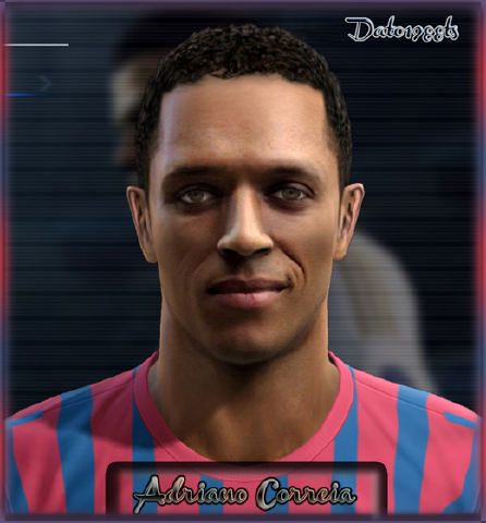 Face Adriano FC.Barcelona by Dato