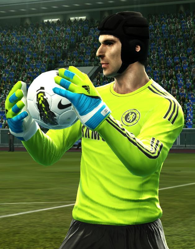 Adidas Response Green Blue Volt+Response Personalizado Petr Cech