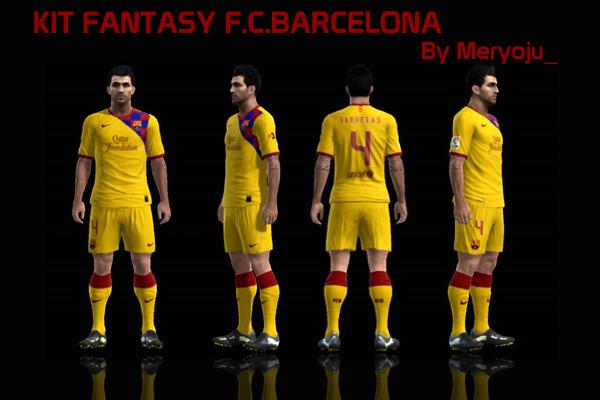 Kit fantasy F.C.Barcelona