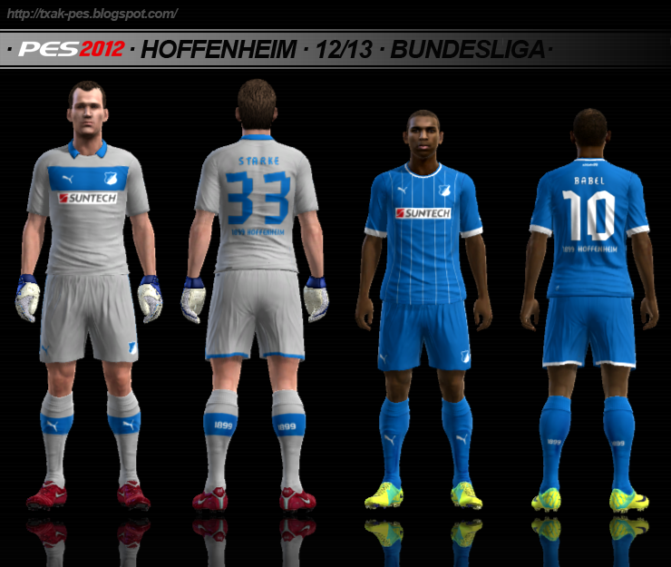 Hoffenheim 12/13 Gk & Home by Txak