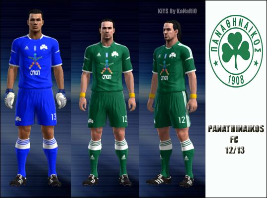 Panathinaikos FC 12/13 Home by KaNaRiO