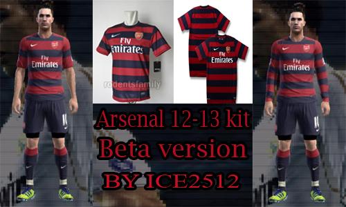 Arsenal 12/13 Away Kit GDB by ice2512