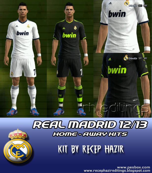 Real Madrid 2012-13 GDB Set by Recep Hazir