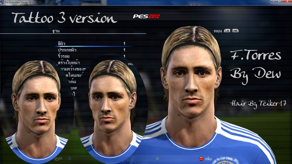 Torres 3 Versions Face By Dew