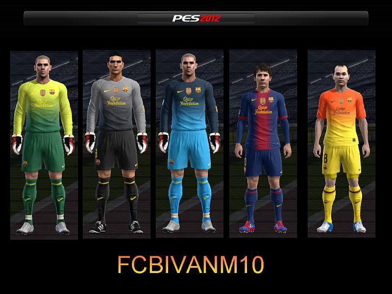 Full GDB FC Barcelona 12-13 PES 2012