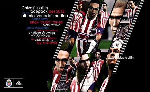 Chivas de Guadalajara Facepack 2012 by xCheWx