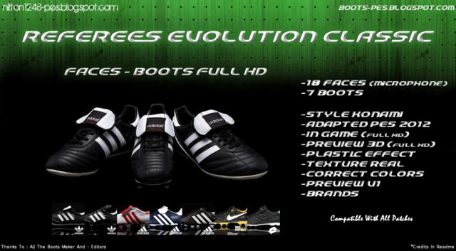 Referees Evolution Classic [Faces – Boots] Full HD by Nilton1248