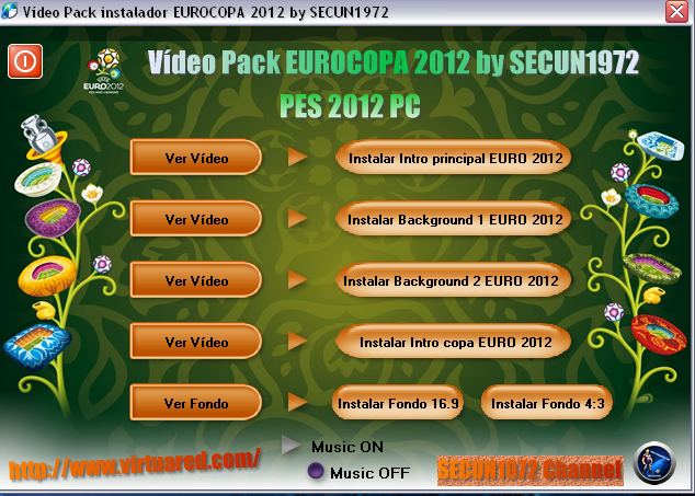 Video Pack EURO 2012 by Secun1972