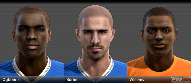 EURO 2012 Facepack #1 by godra94