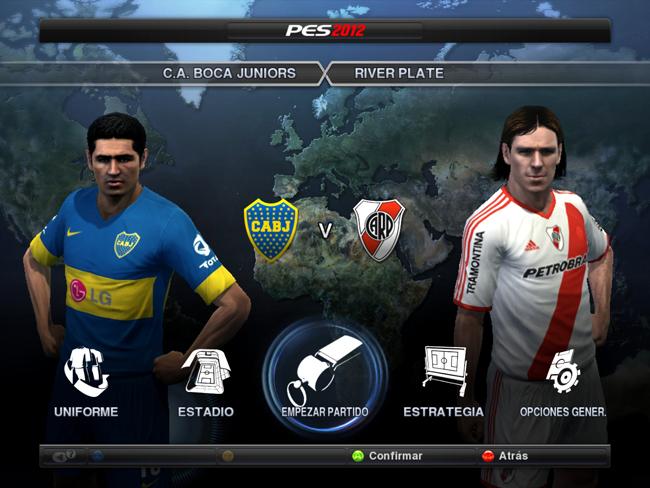 ¿Liga Argentina en el PES 2013?
