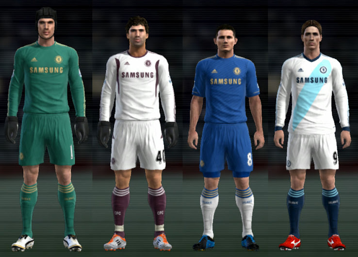 CHELSEA 12-13 KIT SET BY CUKY