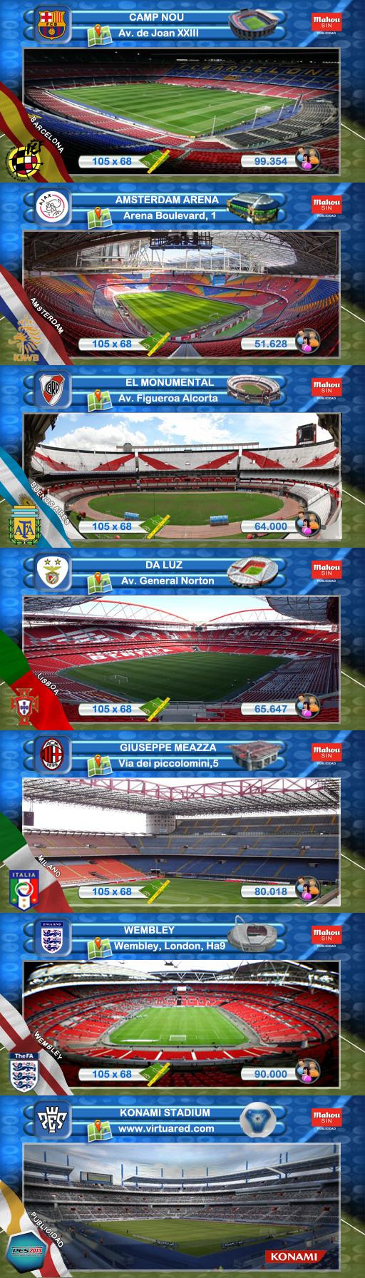Previas estadios by Meryoju_
