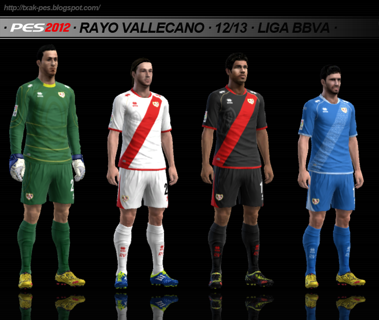 Rayo Vallecano 12/13 GDB by Txak