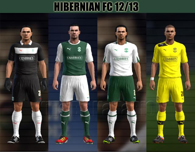 Hibernian FC 12/13 GDB por KaNaRiO