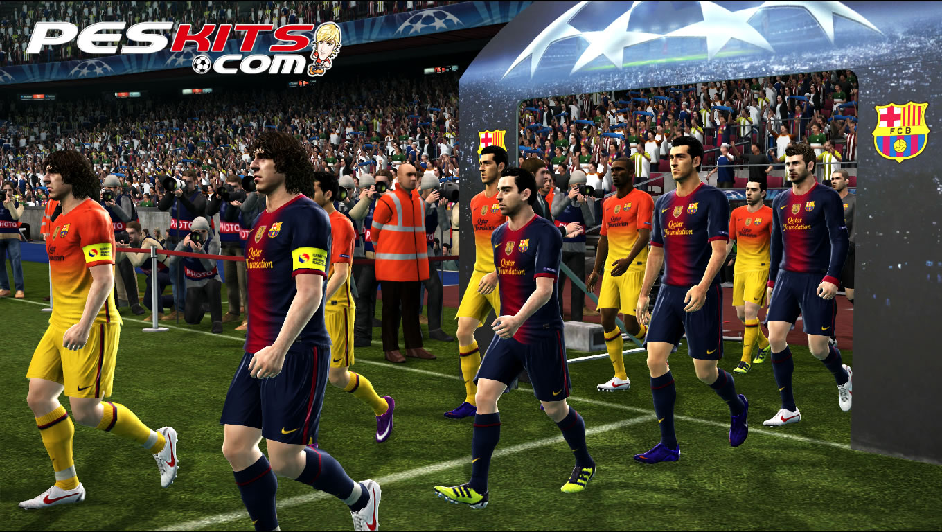 Kits Barcelona FC 2012/13 + CL Update by edxz101
