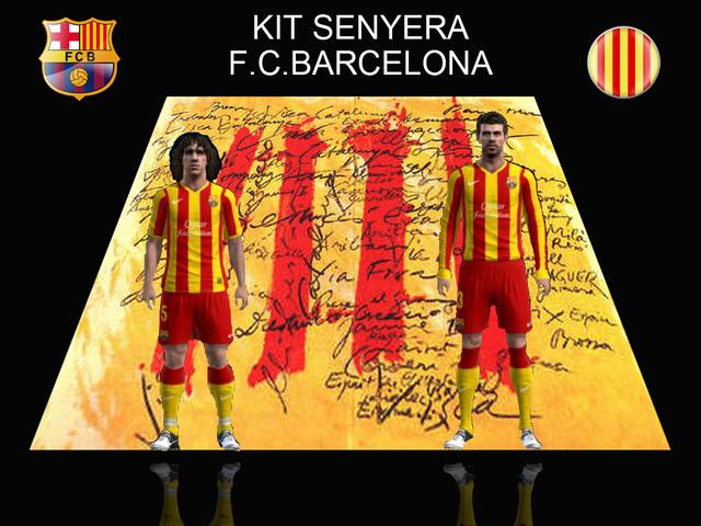 Posible equipación away F.C. Barcelona 13/14 by Meryoju_