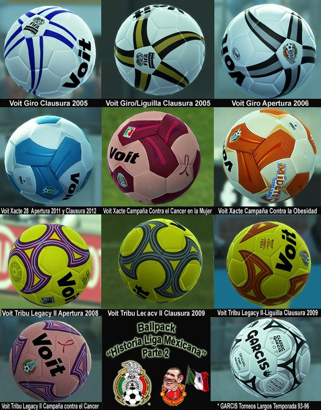 "Ballpack ""Historia Liga Mexicana"" Parte 2 by Skills_Rooney"