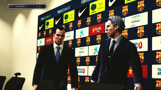 Sala de prensa FC Barcelona by Cronoshack
