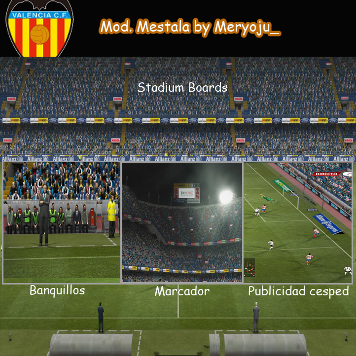 Mod. Estadio de Mestalla by Meryoju_