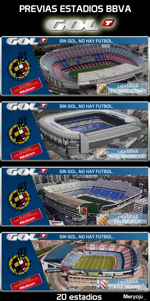 Previas estadios BBVA GolTV by Meryoju_