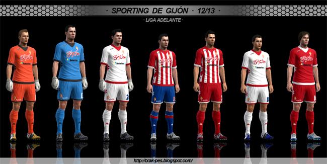 Sporting de Gijón 12/13 GDB by Txak
