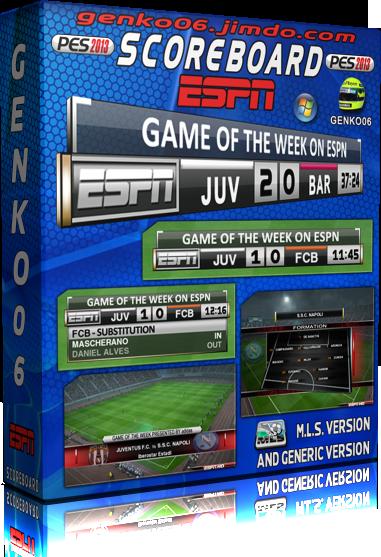 Marcador HD de ESPN by Genko06