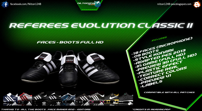 Referees Evolution Classic II [Faces – Boots] Full HD