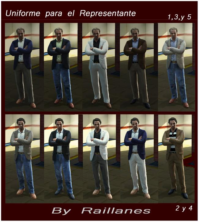 """Uniforme del Representante """"Ser una Leyenda"""" – by Raillanes"""