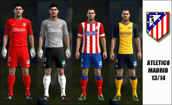 Kits Atlético Madrid 13/14 by KaNaRiO