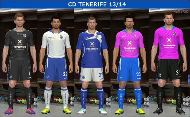 Kits CD TENERIFE 13/14 by KaNaRiO