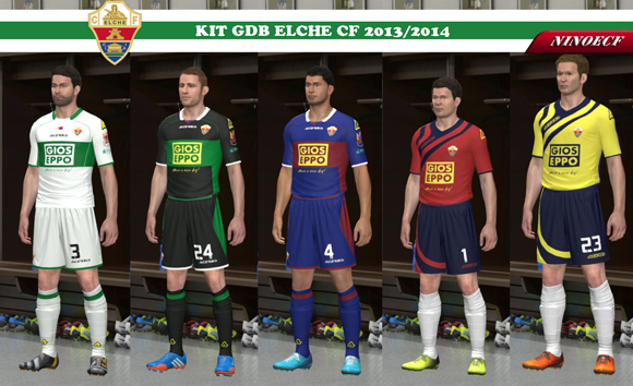 Kit Elche CF GDB 2013/2014 by Ninoecf