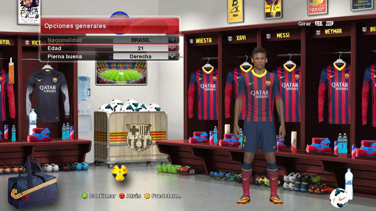 Nuevo Locker Room F.C.B. PES2014 by Meryoju_