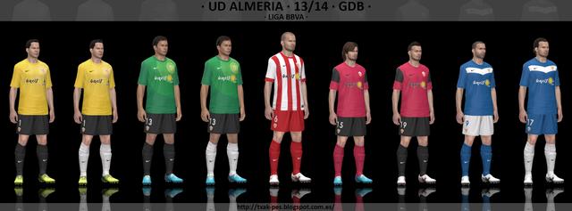 UD Almería 13/14 GDB by Txak