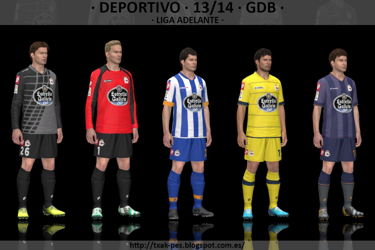 Deportivo 13/14 GDB by Txak