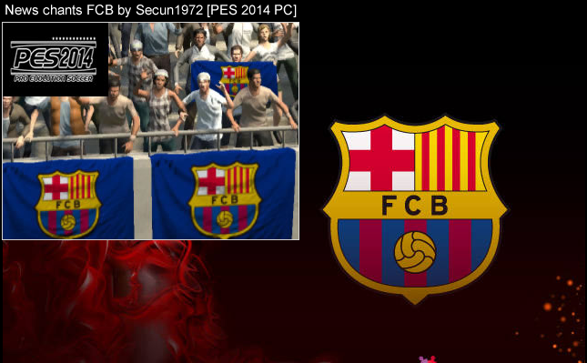 imagen News chants FCB by Secun1972 [PES 2014 PC]