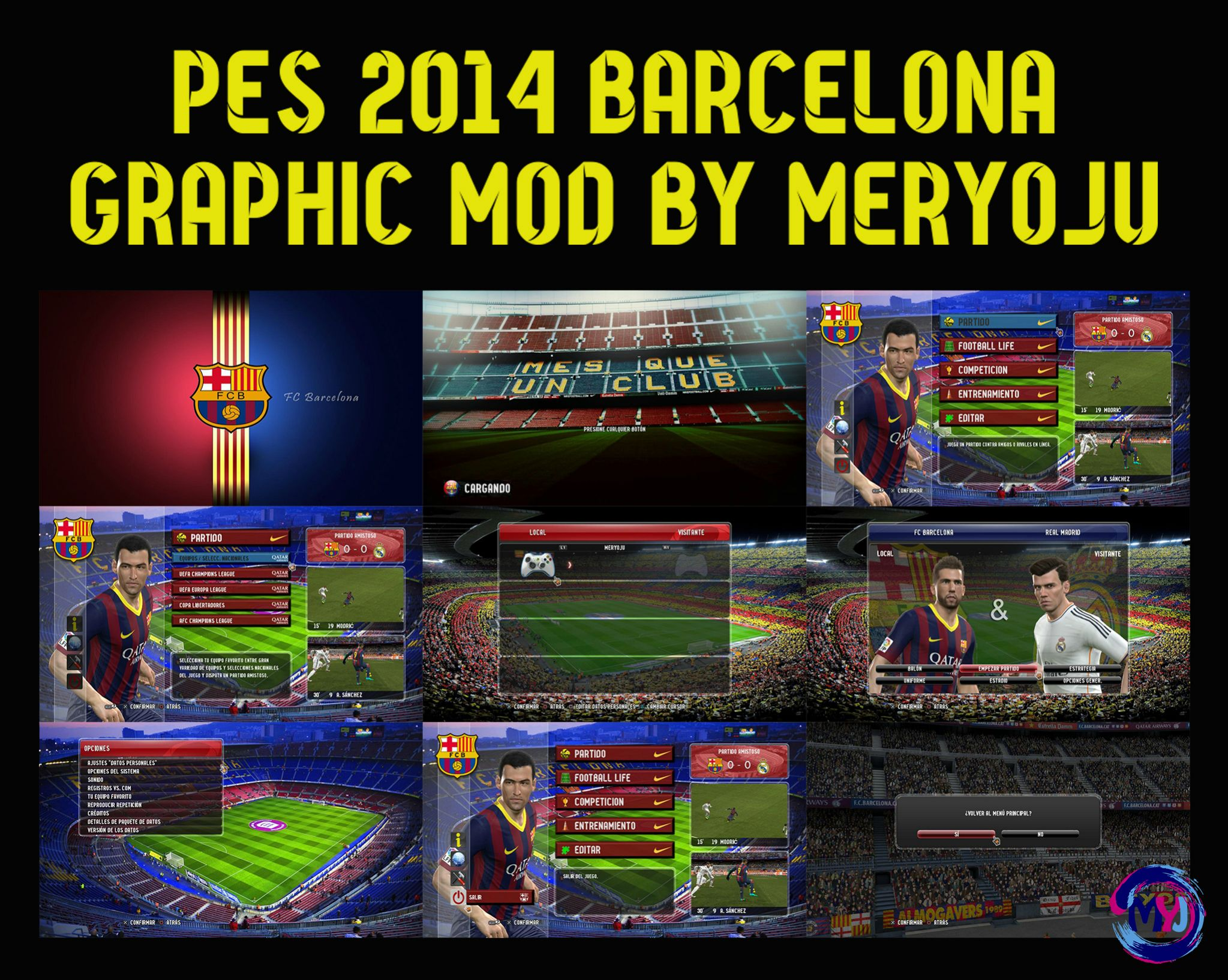 Barcelona Graphic Mod by Meryoju