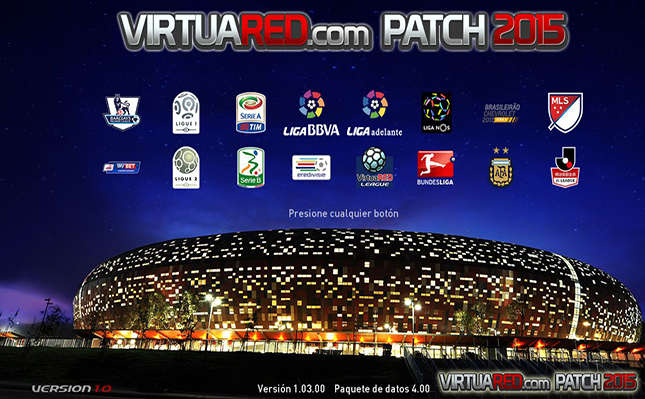imagen VirtuaRED.com Patch 2015 [PES 2015][PC] YA DISPONIBLE