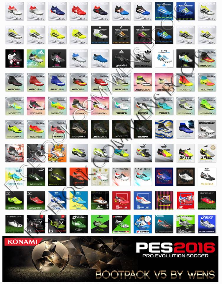 PES 2016 HD bootpack V5 by WENS – (AIO)