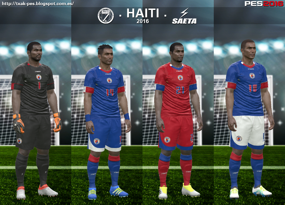 Haiti 2016 kits by Txak