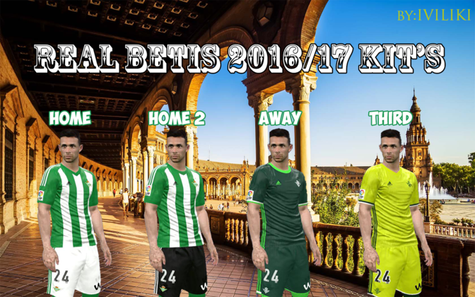 Real Betis 16/17 kits by Ivancastizo