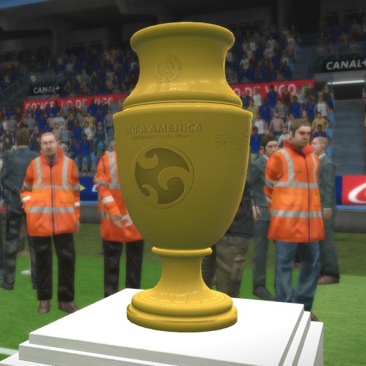 Copa America Centenario Trophy by Txak