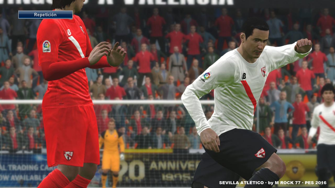 Kits Sevilla Atlético 16/17 by Mrock77