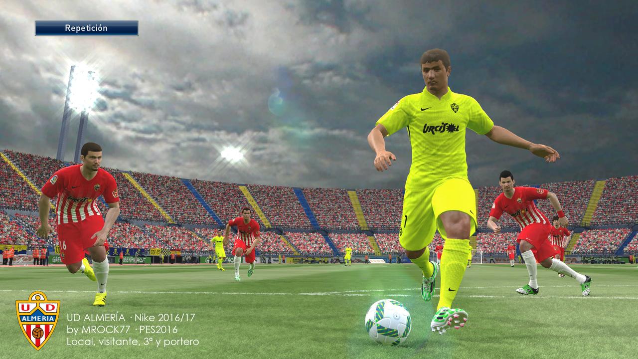 Kits UD Almería 16/17 by Mrock77