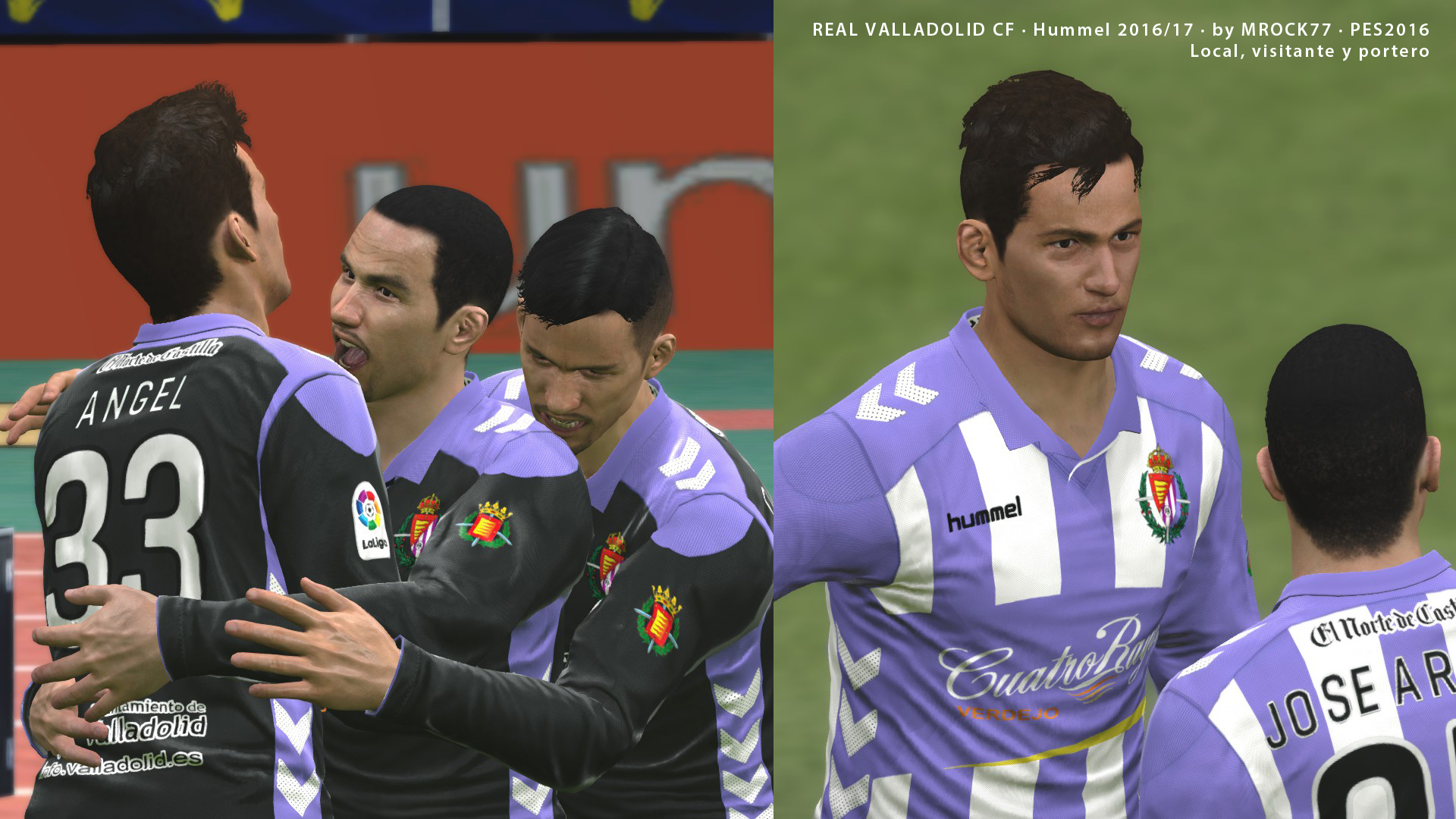 Kits Real Valladolid CF 16/17 by Mrock77