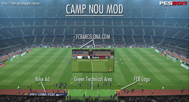Camp Nou Mod by Txak