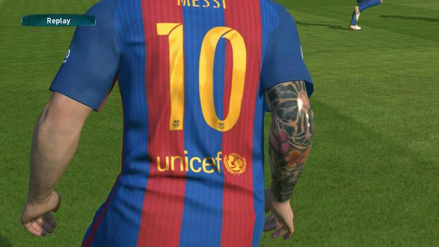 Messi Tattoo Mod by Fathurohman Alief