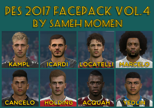 FacePack vol. 4 by Facemaker Sameh Momen