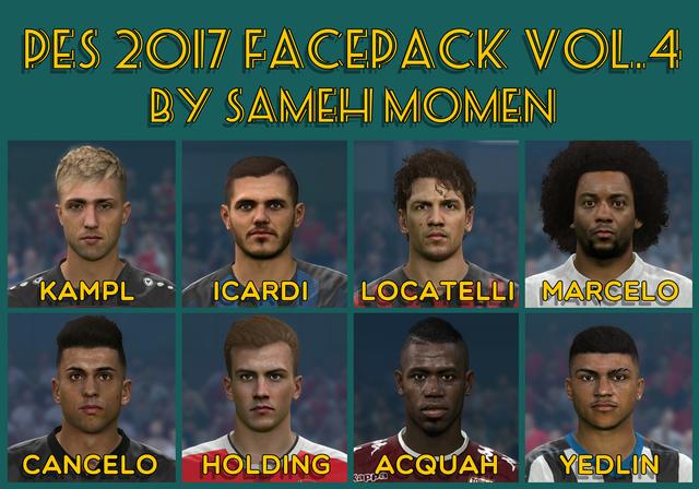 FacePack vol. 4 by Facemaker Sameh Momen
